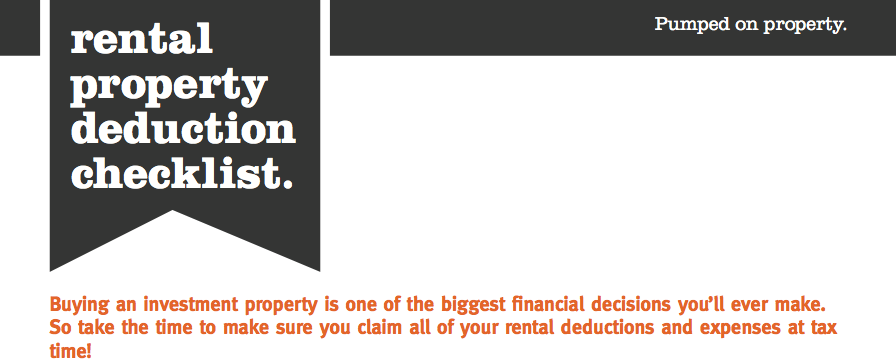 Rental Property Deduction Checklist