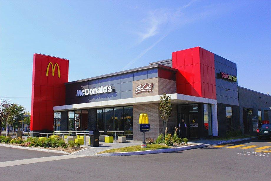 Mcdonalds Fast Food Buildings