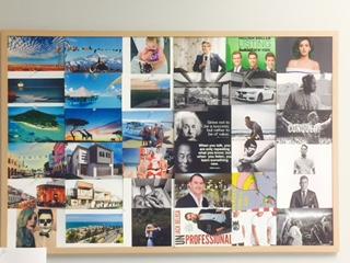 Ben Everingham's Vision Board