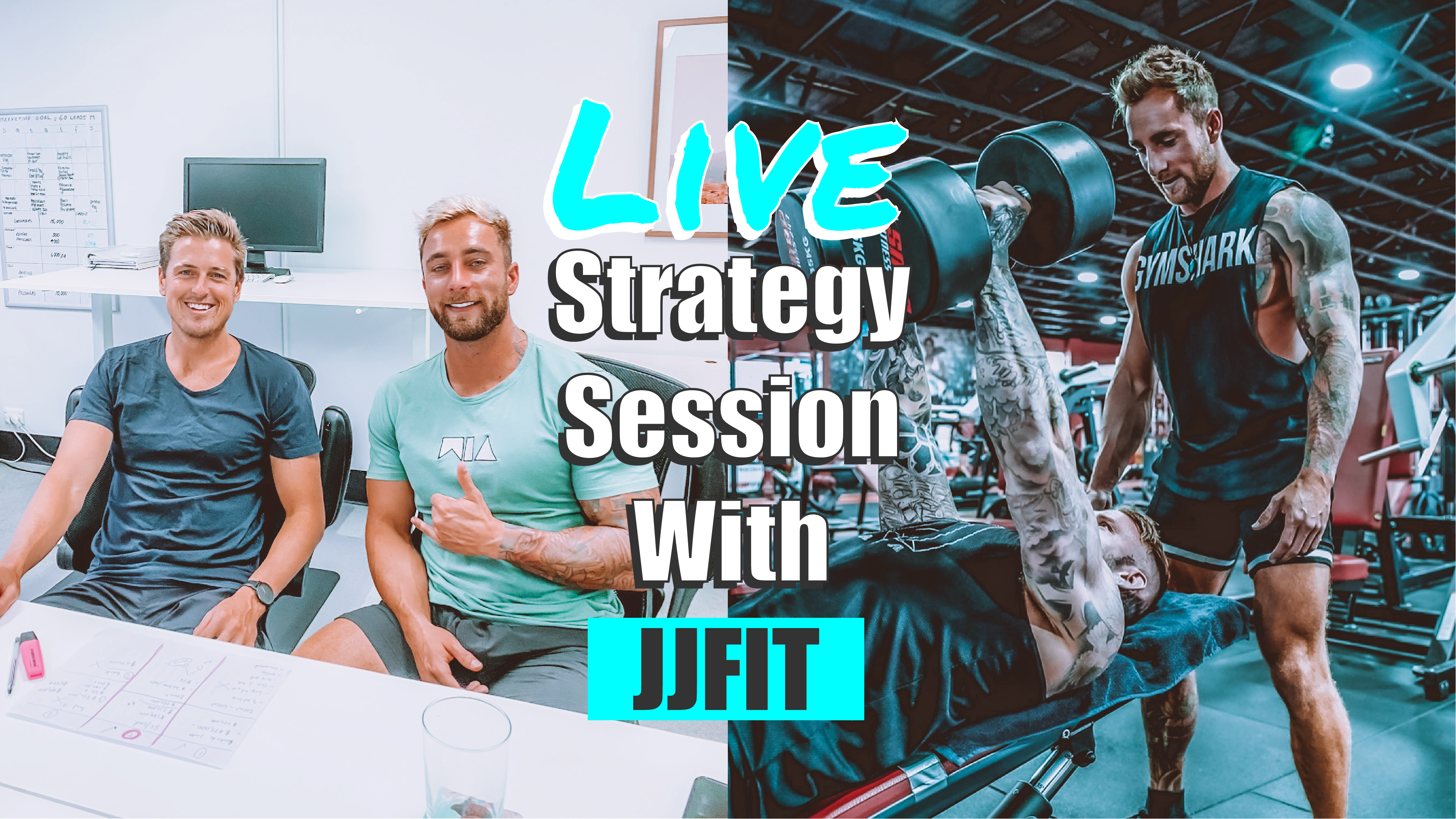 L -Live Strategy Session With Jackson Johnson